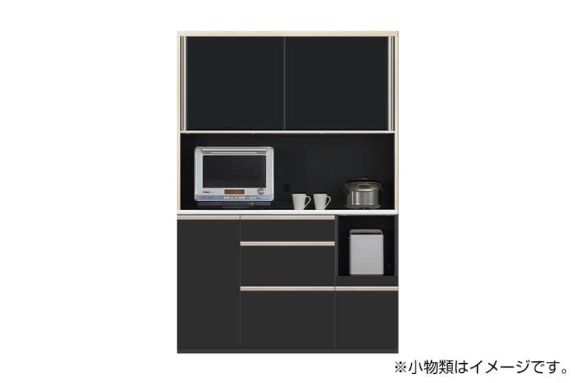 食器棚 サイゼスト 140 (ブラック)
