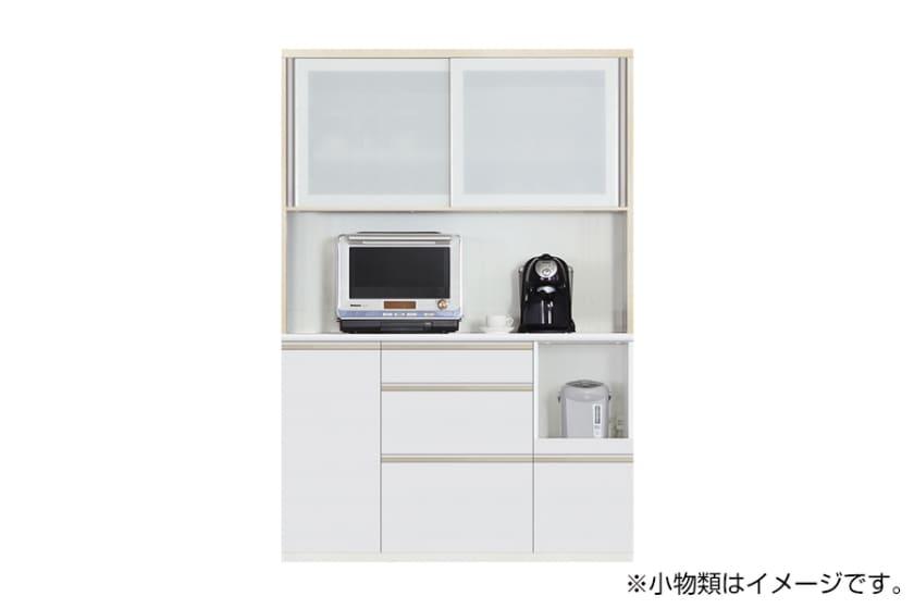 食器棚 サイゼスト 140 (ホワイト)