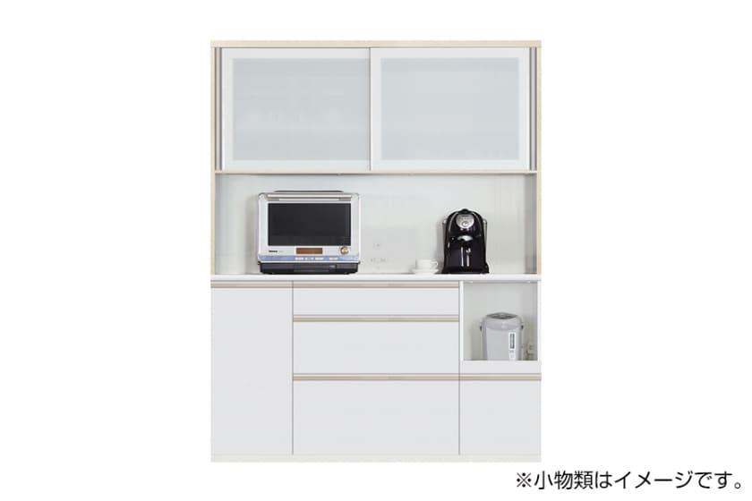 食器棚 サイゼスト 160 (ホワイト):欲しいサイズがきっと見つかる