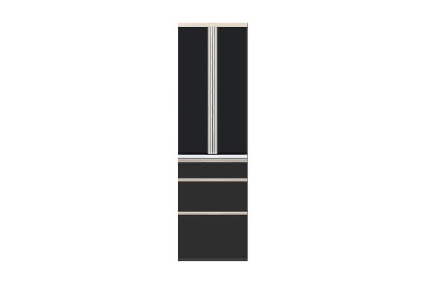 食器棚 サイゼスト 60 (ブラック):欲しいサイズがきっと見つかる