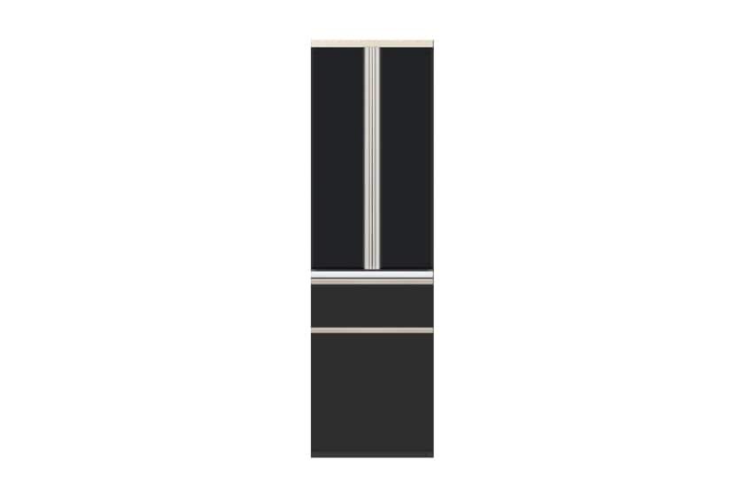 食器棚 サイゼスト 60ダスト (ブラック):欲しいサイズがきっと見つかる