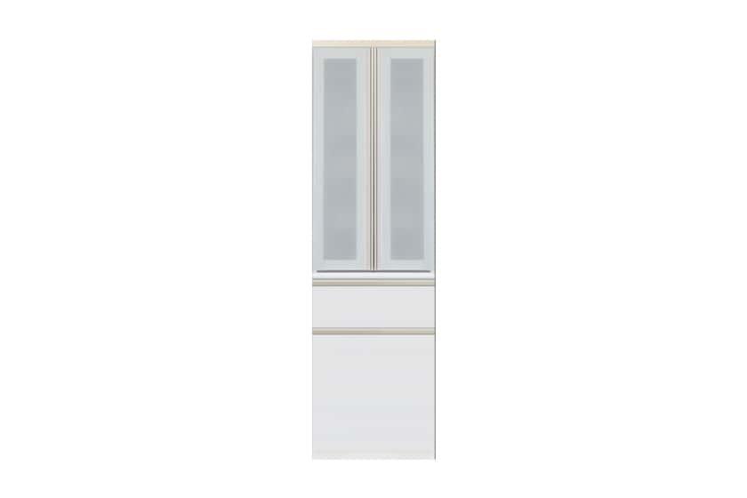 食器棚 サイゼスト 60ダスト (ホワイト):欲しいサイズがきっと見つかる