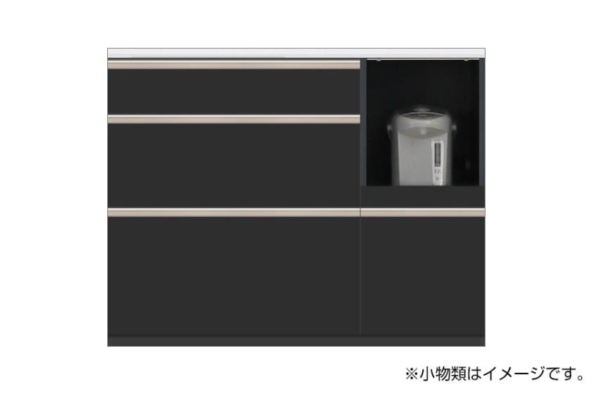 カウンター サイゼスト 115 (ブラック):欲しいサイズがきっと見つかる