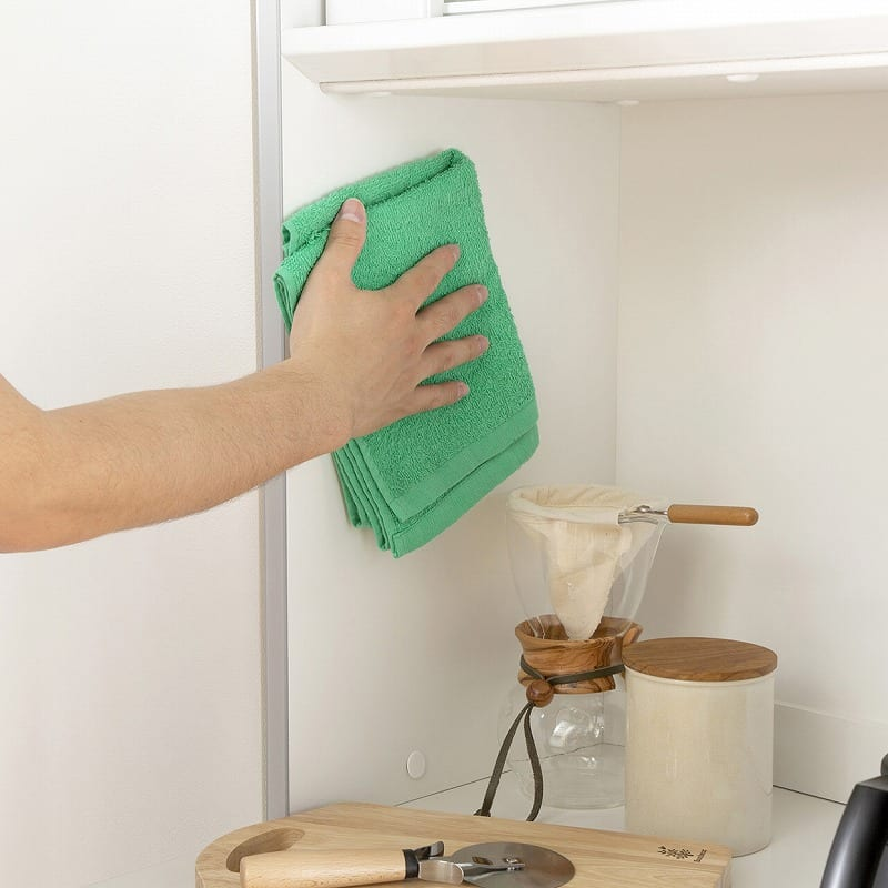キッチンボード ティーノ120ロータイプ (ダーク):EBコーティング