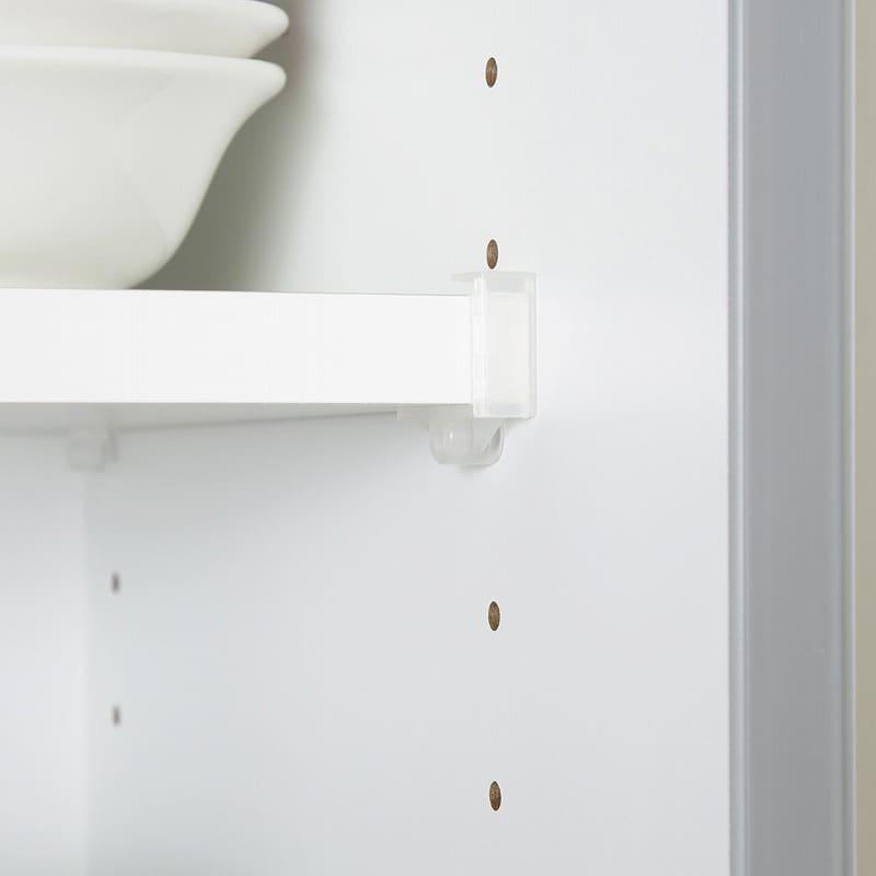 キッチンボード ティーノ140ロータイプ (ダーク):無駄なく収納