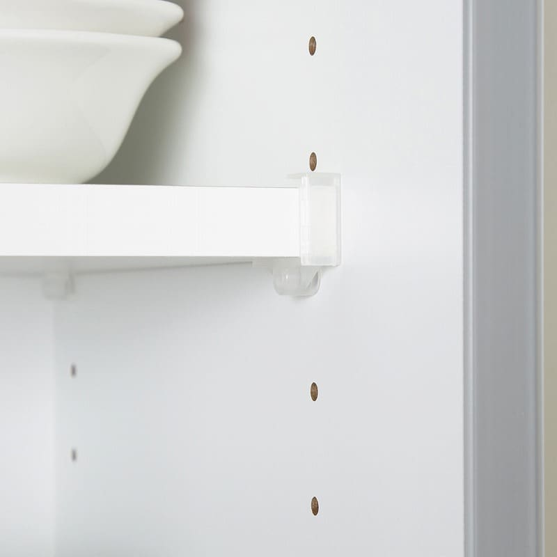 キッチンボード ティーノ100ハイタイプ (ホワイト):無駄なく収納
