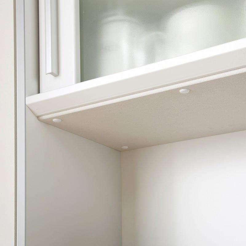 キッチンボード ティーノ120ハイタイプ (ホワイト):有料オプションでMOISS「モイス」も選択可能