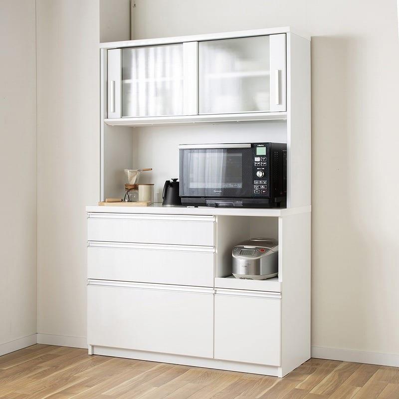 キッチンボード ティーノ120ハイタイプ (ホワイト):信頼の国産品質