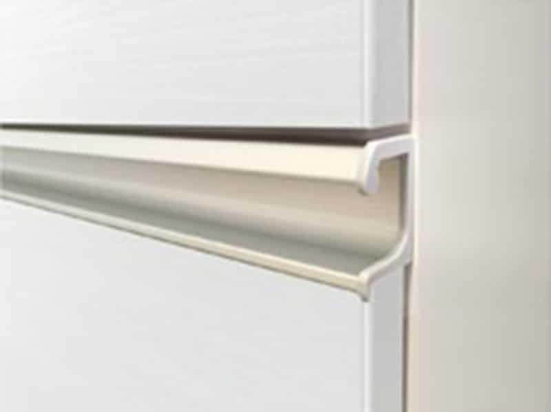 キッチンボード ティーノ120ハイタイプ (ホワイト)