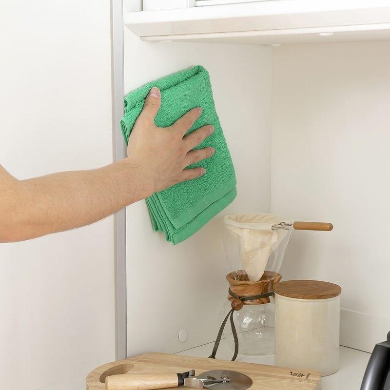 キッチンボード ティーノ140ハイタイプ (ホワイト):EBコーティング