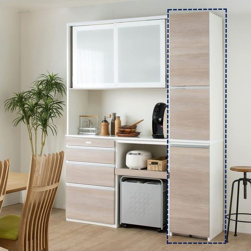 食器棚 ハイル 2点セット:総高213�pの収納力!