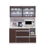 食器棚 ブルート ロータイプ140(OBR)