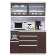 食器棚 ブルート ハイタイプ140(OBR)