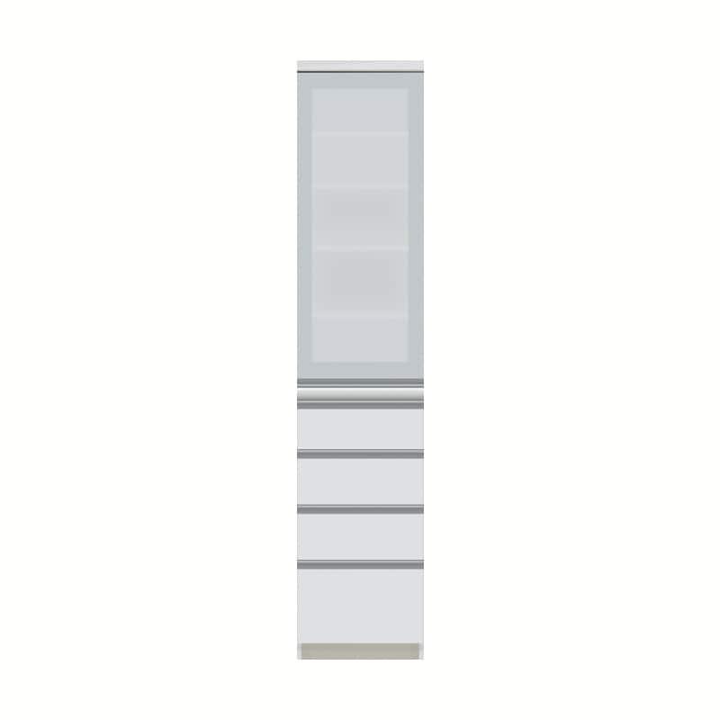 パモウナ ダイニングボード  JZ−400KL W (扉左開き):◆多くの人に支持される安心のブランド『パモウナ』