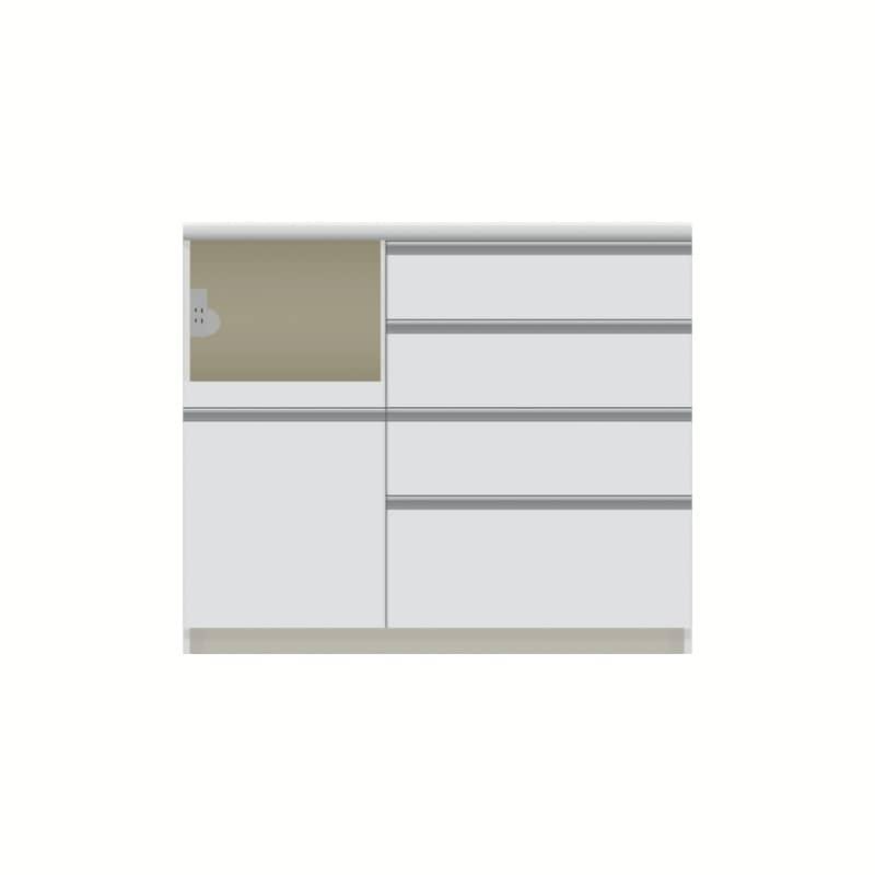 パモウナ カウンター  VZL−1000R下台 W:◆多くの人に支持される安心のブランド『パモウナ』