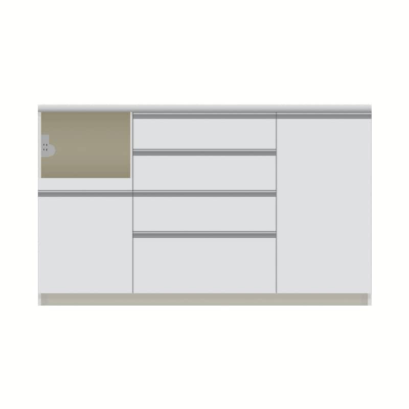 パモウナ カウンター  VZL−1400R下台 W