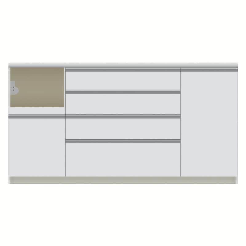 パモウナ カウンター  VZL−1600R下台 W