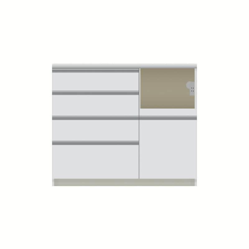 パモウナ カウンター  VZR−1000R下台 W:◆多くの人に支持される安心のブランド『パモウナ』