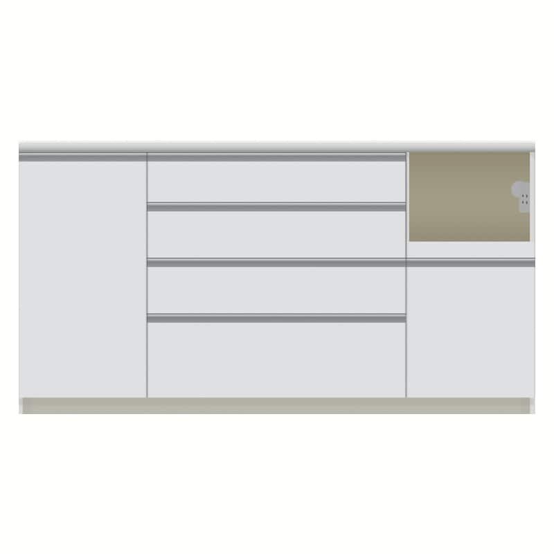 パモウナ カウンター  VZR−1600R下台 W