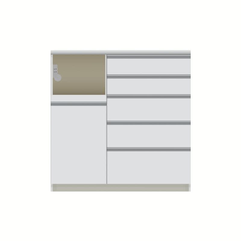 パモウナ カウンター  VQL−1000R下台 W