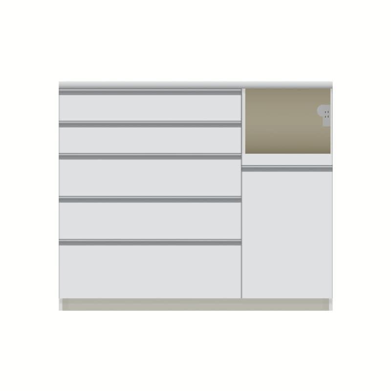 パモウナ カウンター  VQR−1200R下台 W