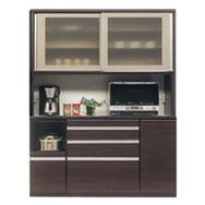 食器棚 ライズ 160レンジ DBR
