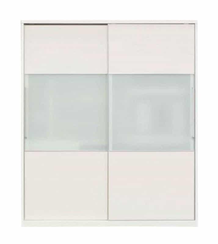 食器棚 マックス180(ゼブラホワイト):◆奥行61cmの超大型収納力!