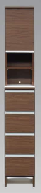 ランドリーボックス ポケット30H−DBR:ランドリーボックス ポケット