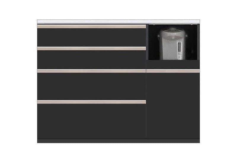 カウンター Nサイゼスト125 (ブラック):欲しいサイズがきっと見つかる 小物類はイメージです。