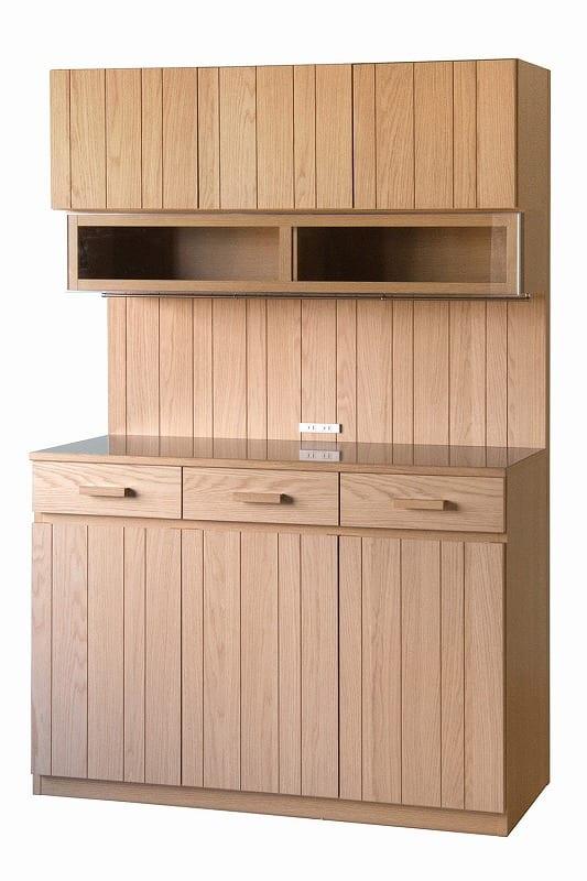 ダイニングボードカフェ 120オープンボード ナチュラル:《もっと自分らしく、キッチン空間を楽しむ」というコンセプト》