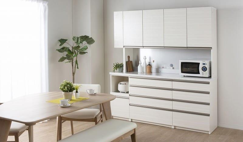 パモウナ 食器棚 スプリーム6点セット:お客様のニーズにお応えする豊富なアイテム数