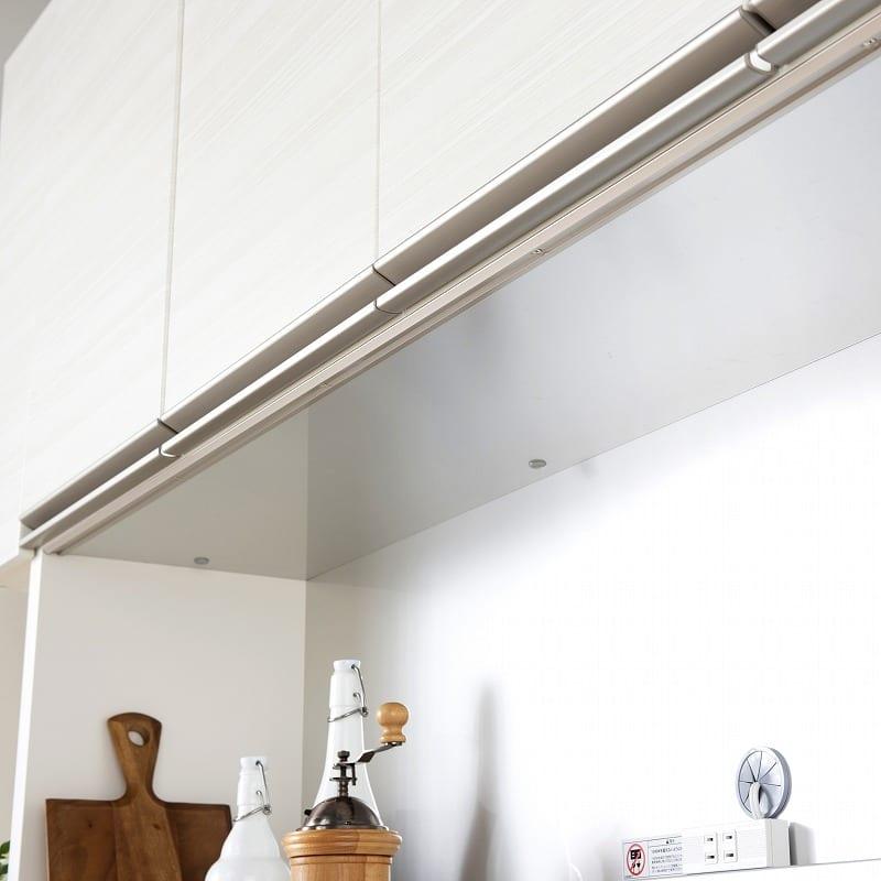 パモウナ 食器棚 スプリーム6点セット:湿気に強く耐久性に優れるアルミ天板