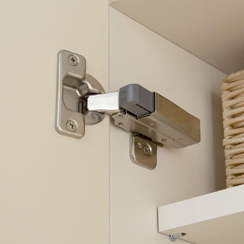 パモウナ 食器棚 スプリーム6点セット:ダンパー機能で扉はゆっくり締まります