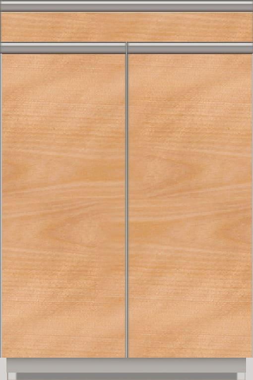 スプリーム 下台(ハイカウンター/カウンター付オープン/扉付) NEH−ZTS602 CH CH:《パモウナカウンター》