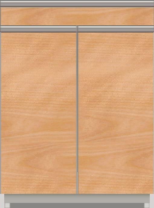 スプリーム 下台(レギュラーカウンター/カウンター付オープン/扉付) NEL−ZT602 CH CH:《パモウナカウンター》