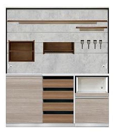 ダイニングボード キーノート 【セット品】:《圧迫感を与えない、オープンスタイルの見せる収納棚「キーノート」》