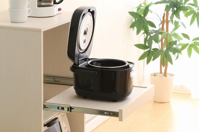 キッチン家電を収納するラック KBD−500 ホワイト