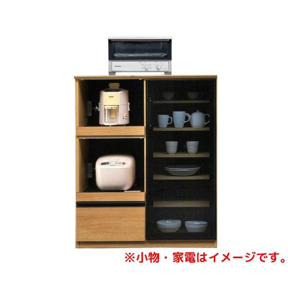 ハイトップカウンター ボヌール 120 オークNA:◆キッチンで立ったまま作業がしやすい天板の高さが魅力のハイカウンター