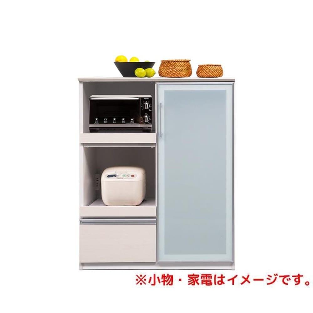 ハイトップカウンター ボヌール 90 WH木目:◆キッチンで立ったまま作業がしやすい天板の高さが魅力のハイカウンター