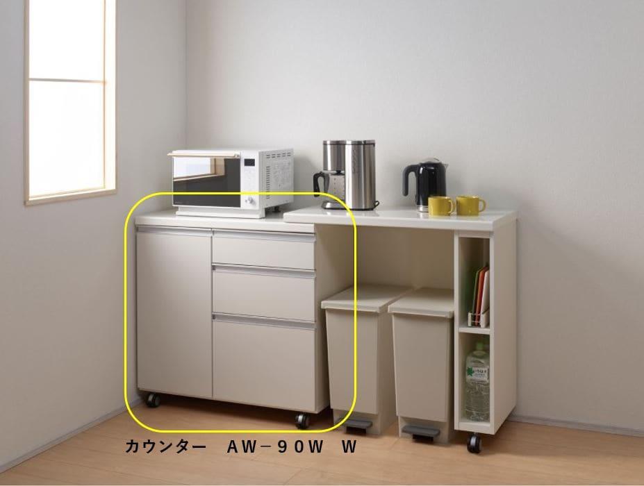 カウンター AW−90W W