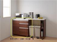 カウンター AW−90W N