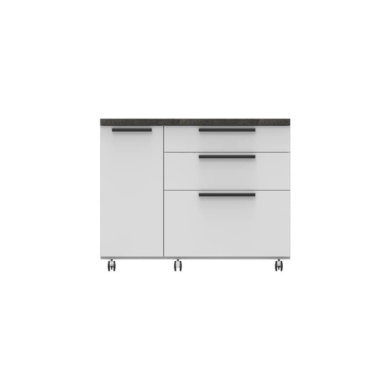 パモウナ カウンター オーチェ�U CW−120W W(プレーンホワイト)