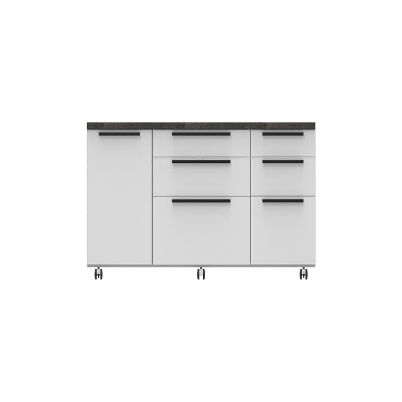 パモウナ カウンター オーチェ�U CW−140W W(プレーンホワイト)