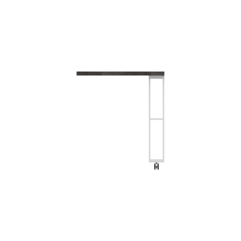 パモウナ エクステンションテーブル オーチェ�U CW−90C W(プレーンホワイト)