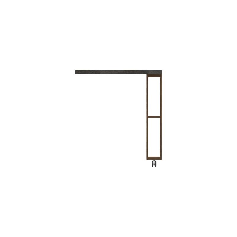 パモウナ エクステンションテーブル オーチェ�U CW−90C N(ウォールナット)