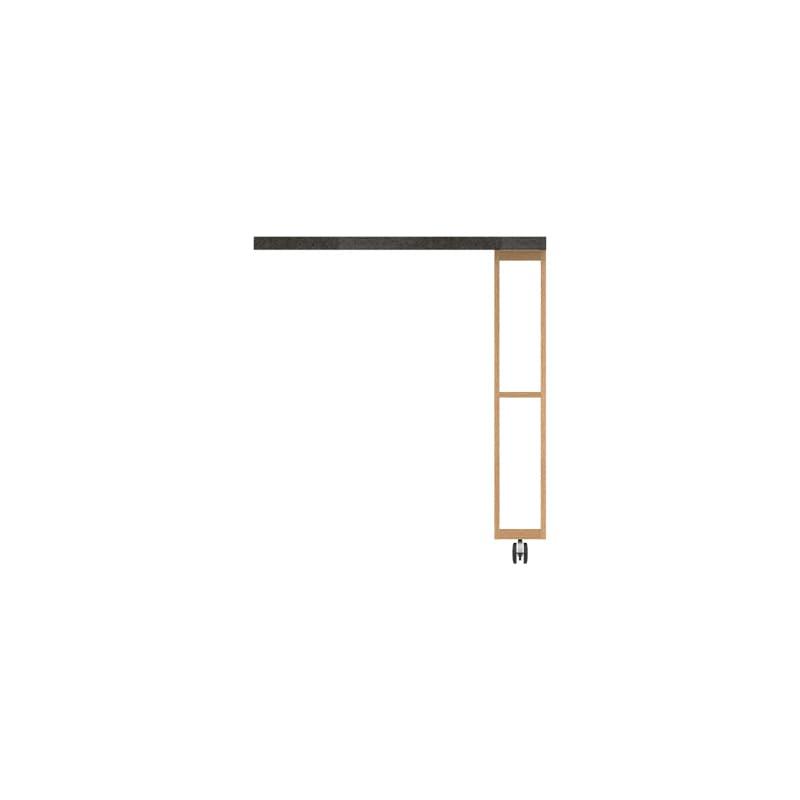 パモウナ エクステンションテーブル オーチェ�U CW−90C O(アイダホオーク)