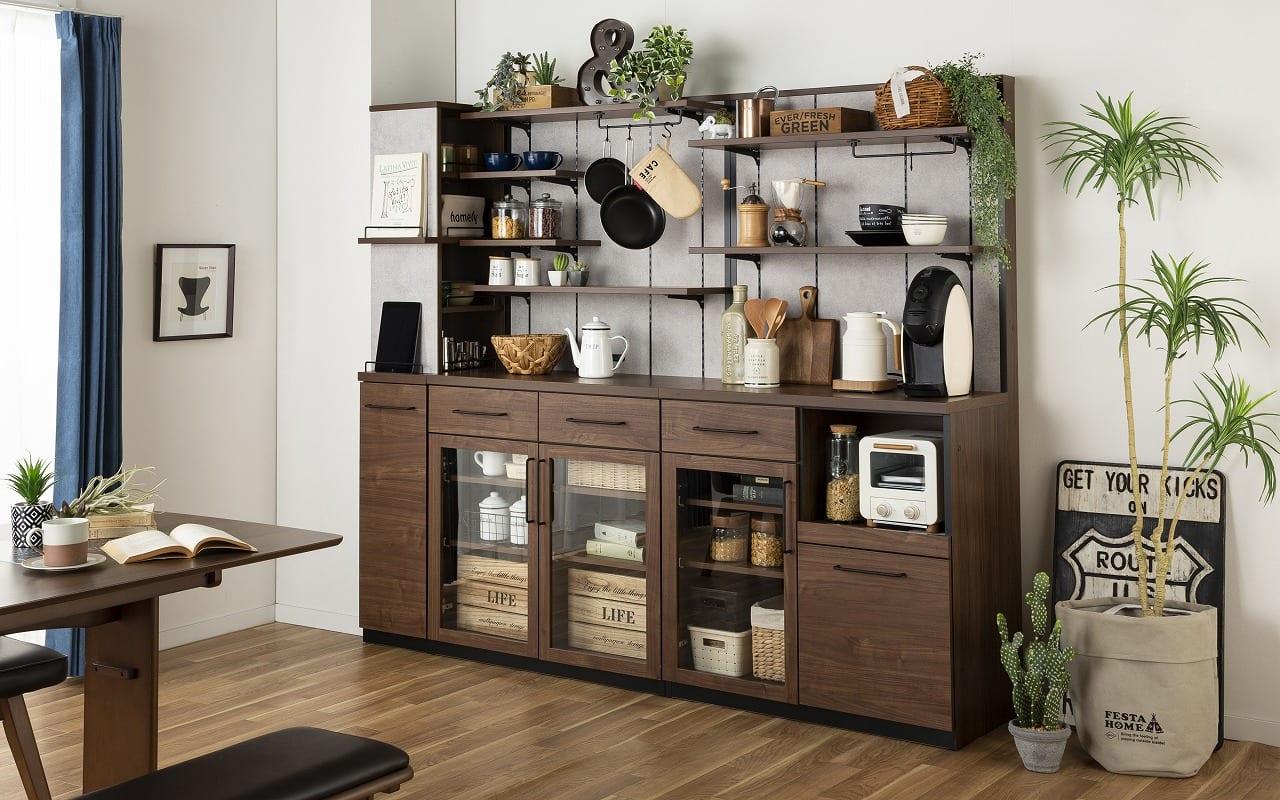:自宅のキッチンを人気のカフェ風キッチンに♪