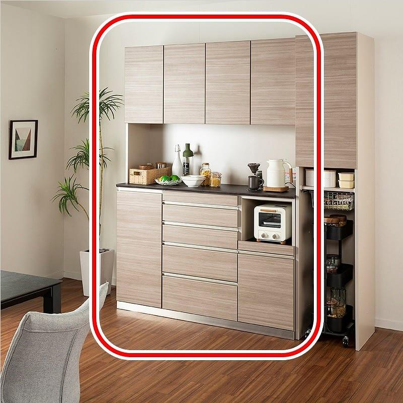 食器棚アーバン UQ−Y140FA/UQ-140K:食器棚アーバン UQ−Y140FA/UQ-140K