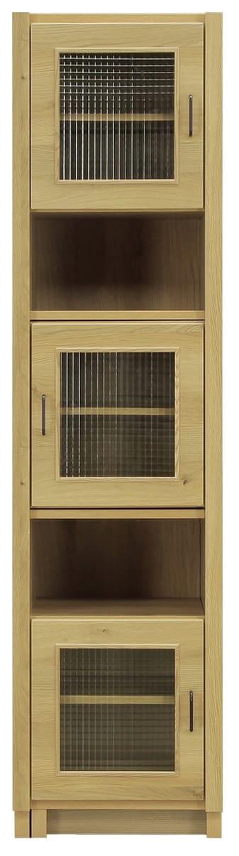【ネット限定】伸長式キャビネット ルヴァン 50−70スペース:ヴィンテージ調デザインのキッチンボード