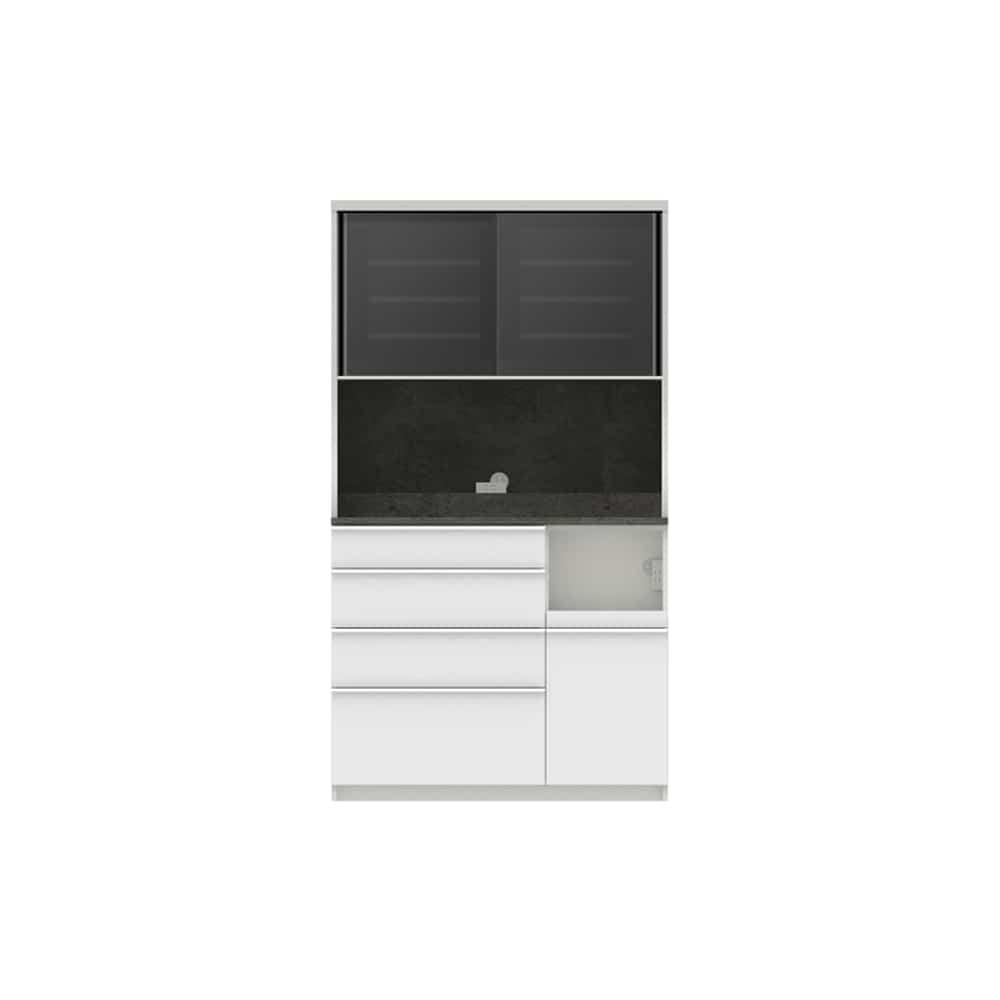パモウナ ダイニングボード ディスペンサ SQR−1100R SG/パールホワイト:パントリーの収納術を意識した商品